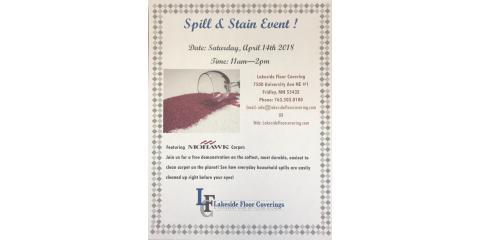 Spill & Stain Event ! , Fridley, Minnesota