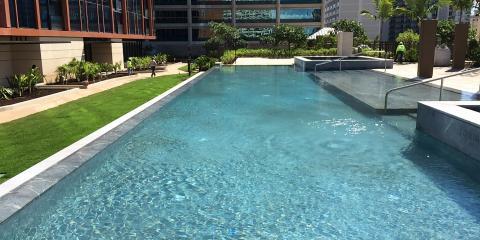 Pacific AquaScapes Latest Pool Design & Construction: ONE Ala Moana -  Luxury Condo Living, Ewa, Hawaii