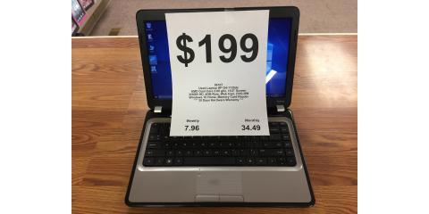 Used HP Laptop $199, Russellville, Arkansas