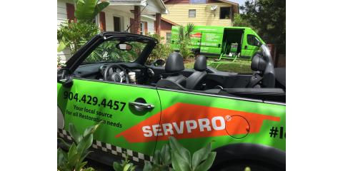 A day in the life - SERVPRO's St. Augustine location - short video update! , St. Augustine, Florida