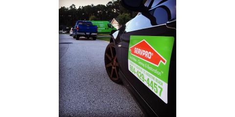 Category 3 Water Damage setup by SERVPO's St. Augustine location., St. Augustine, Florida