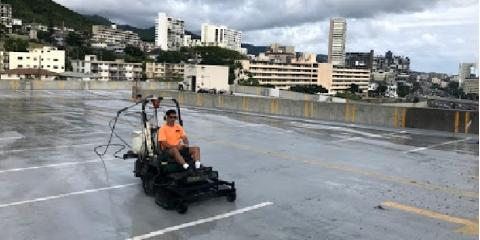 Why You Should Power Wash Your Parking Structure, Ewa, Hawaii