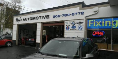 THE RIGHT MOTOR OIL FOR YOUR CAR, Seattle, Washington