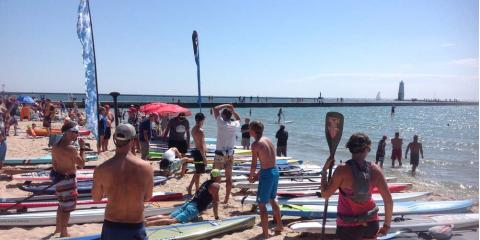 Stand Up Paddle Boards: Join This Year's Annual Race in Michigan, Beulah, Michigan