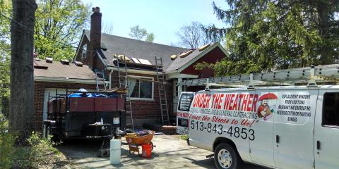 For Effective And Affordable Home Remodeling, Trust Under The Weather Roofing & Remodeling in OH, Amelia, Ohio