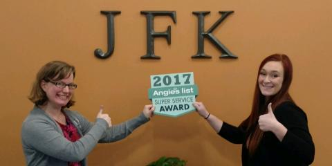 JFK Window and Door Co. Earns Esteemed 2017 Angie's List Super Service Award, Forest Park, Ohio