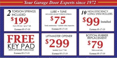 April Garage Door Specials, Aurora, Colorado