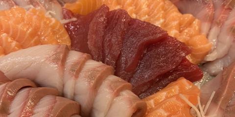 Difference Between Sushi & Sashimi, Honolulu, Hawaii