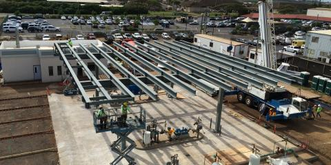 Maui's Metal Fabrication Pros Contribute to CONRAC Project at Kahului Airport, Puunene, Hawaii