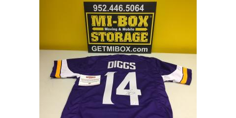 MI-BOX Mobile Storage Diggs' Jersey Giveaway, Norwood Young America, Minnesota