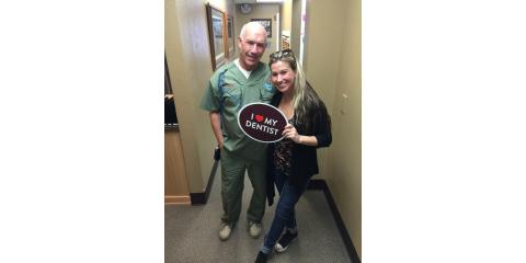 Some of you may remember Jessica, a former employee at FFD. She still roams the halls looking for a cleaning every 6 months & wants to show us some love!  Which of our awesome dentists or staff do YOU love to come and see?, Anchorage, Alaska