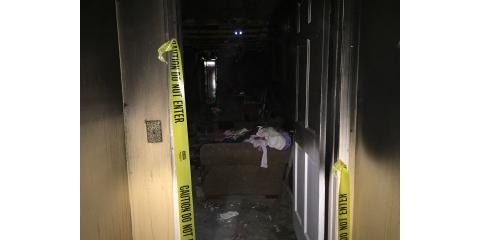 Fire Damage - The Dangers you can't see, St. Augustine, Florida