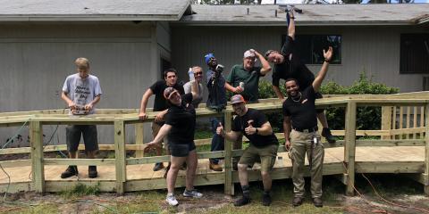 SERVPRO's St Augustine volunteer project , St. Augustine, Florida