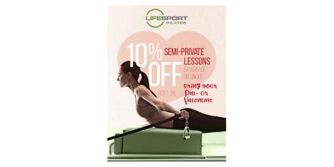 TONE UP FOR SPRING BREAK WITH PILATES & A PAL, Libertyville, Illinois