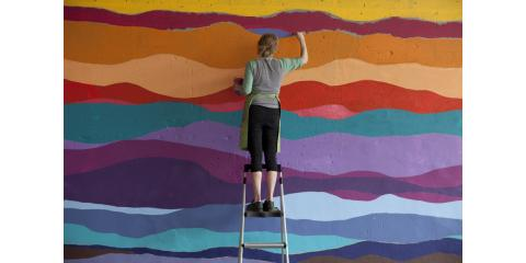 Mural Walk with Ellie Balk at St. Louis Contemporary Art Museum, Maryland Heights, Missouri
