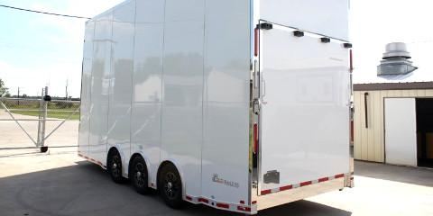 We Help Your Dream Trailer Become A Reality! Check Out Customer Rick Hill's Completed inTech Trailer!, Cuba, Missouri