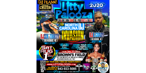 #LittyPalooza Has Greensboro, Charlotte & Other Areas Of NC Excited!!! #OrangeCrushFestival, ,