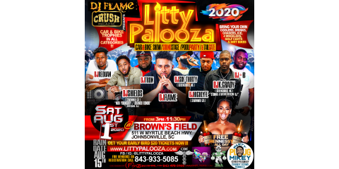 #LittyPalooza Is Really Giving Away Free Hennessy?!?! #OrangeCrushFestival, ,