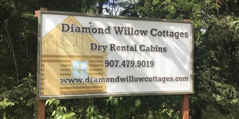 Diamond Willow Cottages Has Openings!, Fairbanks, Alaska