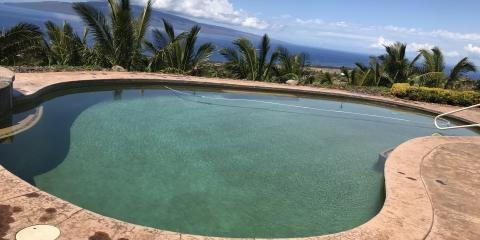 What Causes Pools to Change Color?, Kihei, Hawaii