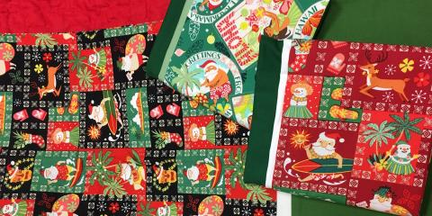 3 Easy Quilting Gifts for Christmas, Kihei, Hawaii