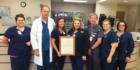 Coryell Memorial Hospital's ER has Perfect Score, Gatesville, Texas