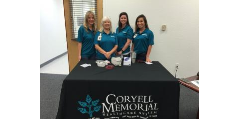 CMHS Particpates in Health Fair to share Hospital Services, Gatesville, Texas