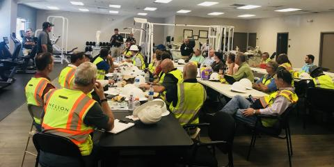Meeting of Engineers Before Structural Inspections , Gatesville, Texas