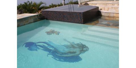 3 Ways Mosaic Designs Turn Swimming Pools Into Works of Art, Simi Valley, California