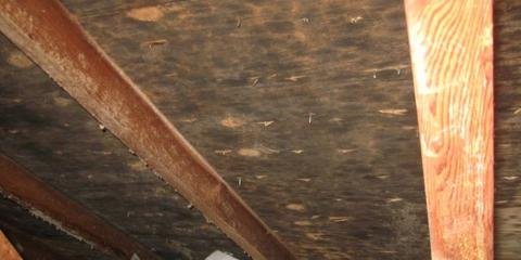 Why Does Mold Grow on Attic Sheathing?, Omaha, Nebraska