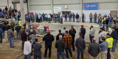 Stephens & Smith Construction Presents and Demonstrates at Annual Quality Concrete Conference, Lincoln, Nebraska