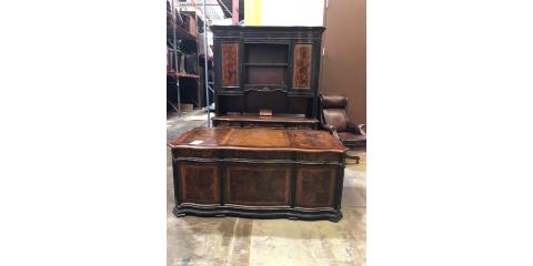 Executive Desk with Chair, ,