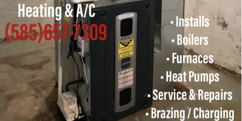 Heating / Repair and Install Services in Canandaigua - Bradford and Sons 14424, Canandaigua, New York