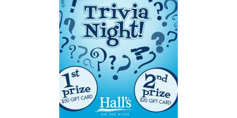 TRIVIA NIGHT WEDNESDAY at 6:30! Prices for 1st and 2nd place winners , Lexington-Fayette, Kentucky