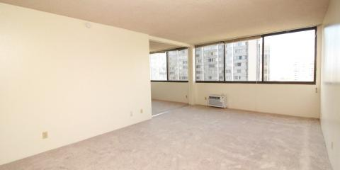 1Bd, 1Bath, 1 Covered Parking Kukui Plaza Brand New Flooring, Honolulu, Hawaii