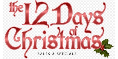 THE 12 DAYS OF CHRISTMAS DEALS, Wildwood, Missouri