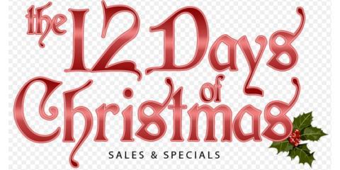 THE 12 DAYS OF CHRISTMAS DEALS, Wildwood, Missouri