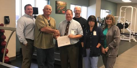 CMHS Pulmonary Rehab Program Graduates First Patient, Gatesville, Texas