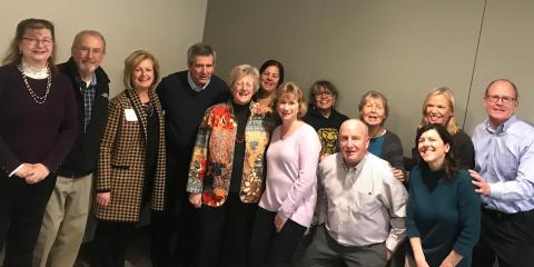 Spotlight on PD in Connecticut: Historic Meeting of Various Support Groups, Marlborough, Connecticut