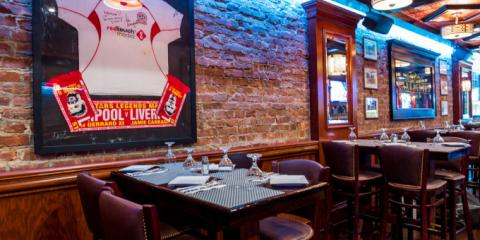 Classic British Food, Beer on Tap, & Party Room for Rent? Only One NYC Sports Bar Has it All, Manhattan, New York
