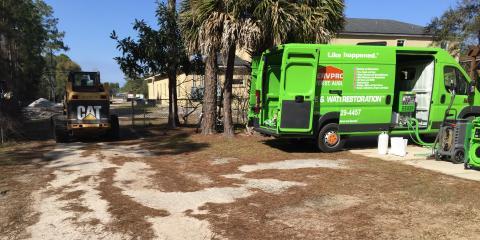 Sewage Backup, Water Damage, all in St. Augustine, all saved by local heroes from SERVPRO!, St. Augustine, Florida