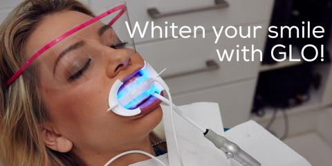 Love Your Smile This Fall With Half Off GLO™ Science Professional Teeth Whitening Treatment, Trempealeau, Wisconsin