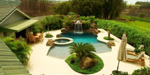 How Should You Surround Your Inground Pool?, Kihei, Hawaii