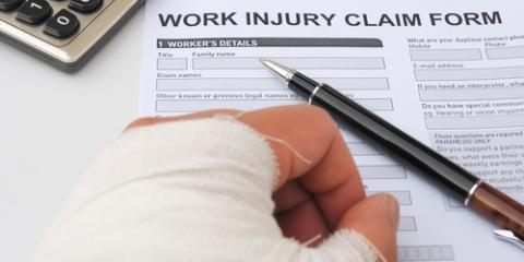 Waterbury Personal Injury Lawyers Share 5 Types of Worker's Compensation Injuries, Waterbury, Connecticut