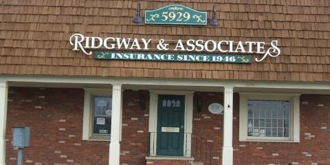 Ridgway & Associates Insurance Agency, Inc., Insurance Agents and Brokers, Services, Hudson, Ohio