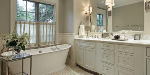 Top 5 Bathroom Design Tips, Chattanooga, Tennessee