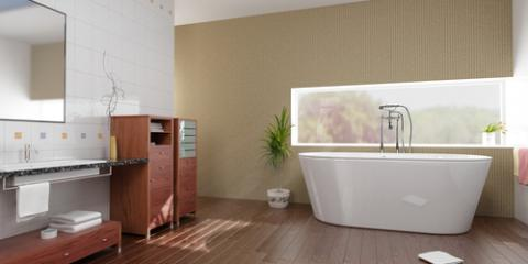 5 Interior Design Tips to Make Your Bathroom Look Larger, Uniontown, Ohio