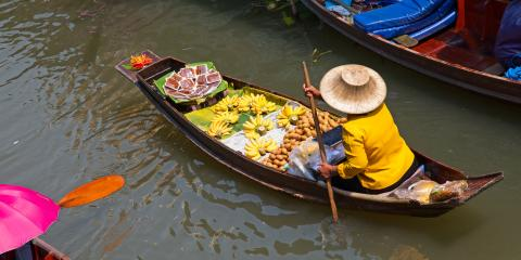 4 Reasons to Consider International Travel to the Floating Markets in Thailand, Pittsford, New York