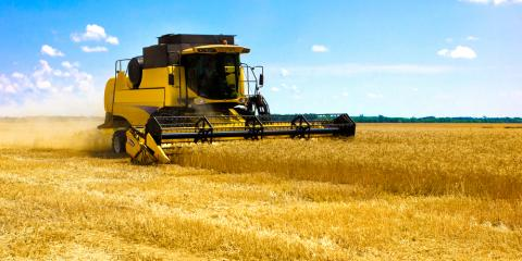 What Advantages Does the Combine Chaff Spreader Provide Farmers? , Seventy-Six, Iowa