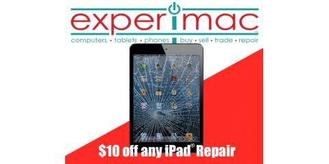 $10 off any iPad® Repair, Greenville, North Carolina